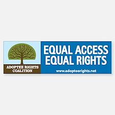 Adoptee Rights Coalition Bumper Bumper Sticker