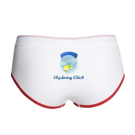 Skydiving Chick (2) Women's Boy Brief