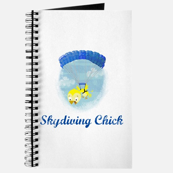 Skydiving Chick (2) Journal