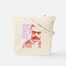 Emiliano Zapata Mexican Revolution Leader Tote Bag