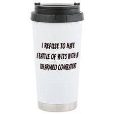 Battle of Wits Travel Mug