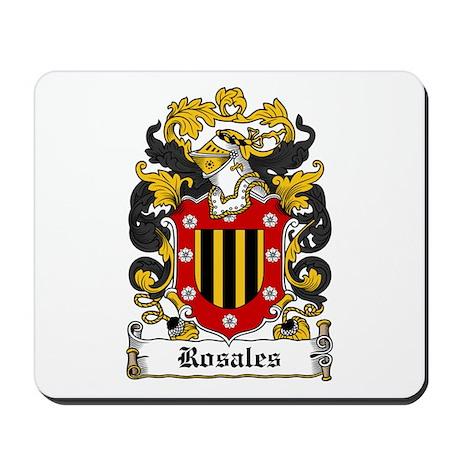 Rosales Coat of Arms Mousepad