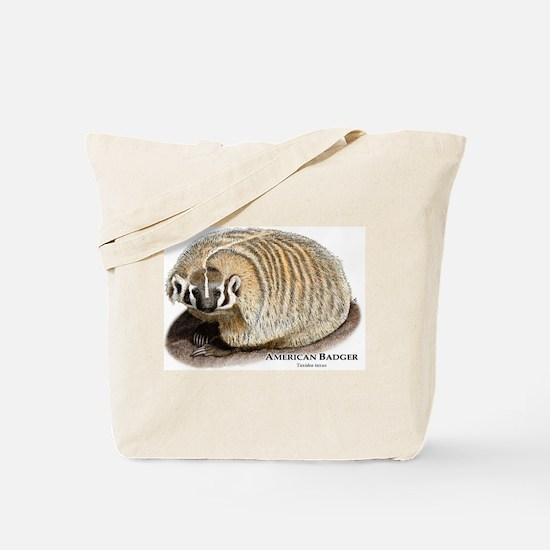 American Badger Tote Bag