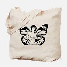 Cute Madame butterfly Tote Bag