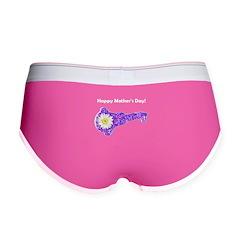 Happy Mother's Day Women's Boy Briefs Underwear