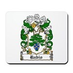 Rubio Coat of Arms Mousepad