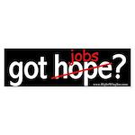 got jobs? Sticker (Bumper 50 pk)