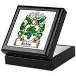 Rubio Coat of Arms Keepsake Box