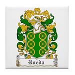 Rueda Coat of Arms Tile Coaster
