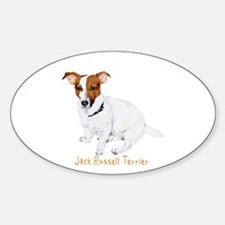 Jack Russell Terrier Painting Decal