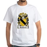 Sandoval Coat of Arms White T-Shirt