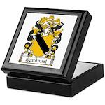 Sandoval Coat of Arms Keepsake Box