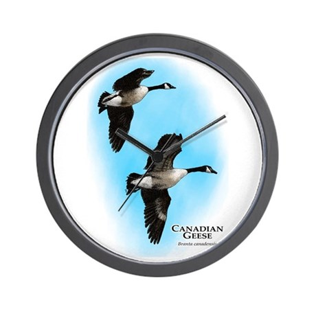 Canadian Geese Wall Clock