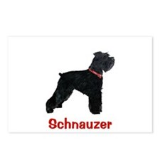 Miniature Schnauzer Postcards (Package of 8)