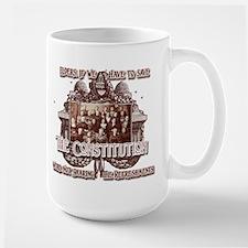 No Refreshments for you, Elder! Large Mug