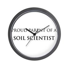 Proud Parent: Soil Scientist Wall Clock