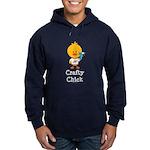 Crafty Chick Hoodie (dark)