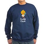 Crafty Chick Sweatshirt (dark)