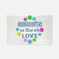 Granddaughter Rectangle Magnet