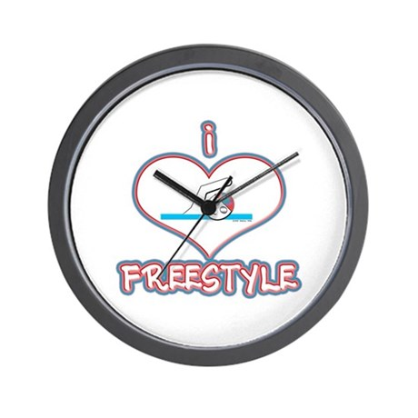 I Love Freestyle! Wall Clock