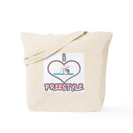 I Love Freestyle! Tote Bag