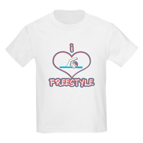 I Love Freestyle! Kids T-Shirt