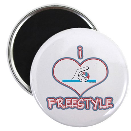 "I Love Freestyle! 2.25"" Magnet (100 pack)"