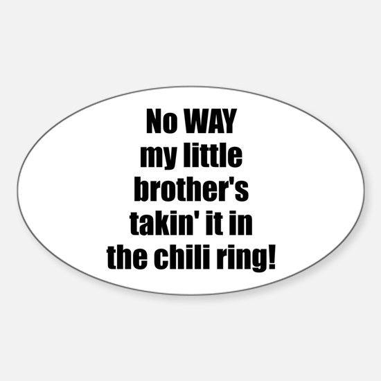 Chili Ring Sticker (Oval)