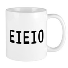 EIEIO Small Mug