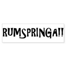 Rumspringa!! Guys Bumper Sticker