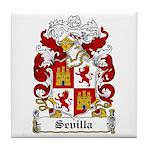 Sevilla Coat of Arms Tile Coaster