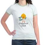 Scrapbook Chick Jr. Ringer T-Shirt