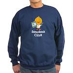 Scrapbook Chick Sweatshirt (dark)