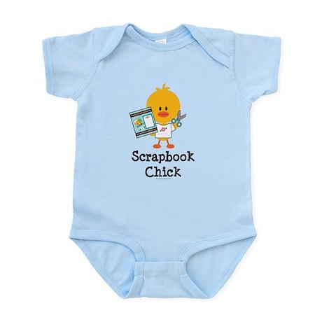 Scrapbook Chick Infant Bodysuit