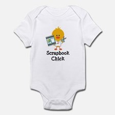 Scrapbook Chick Infant Bodysuit