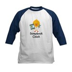Scrapbook Chick Kids Baseball Jersey