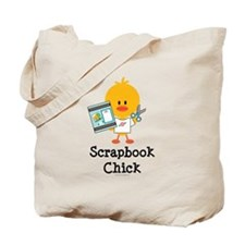 Scrapbook Chick Tote Bag