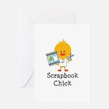 Scrapbook Chick Greeting Card