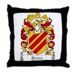 Sosa Coat of Arms Throw Pillow
