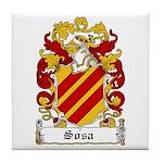 Sosa Coat of Arms Tile Coaster