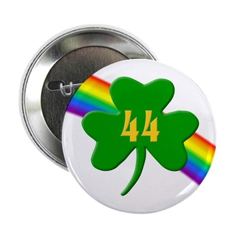 """44th Shamrock 2.25"""" Button (10 pack)"""
