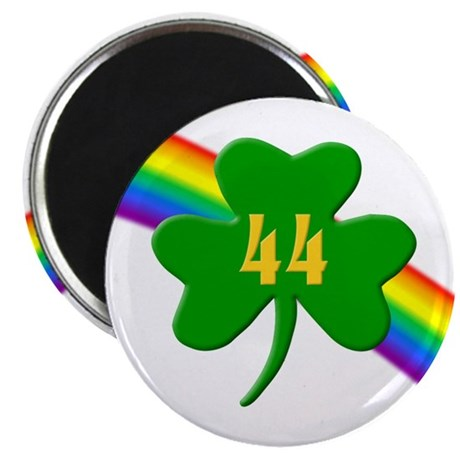 "44th Shamrock 2.25"" Magnet (10 pack)"