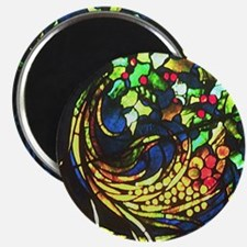 Tiffany Round Magnet