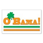 O'Bama! St. Patrick's Day Obama Sticker