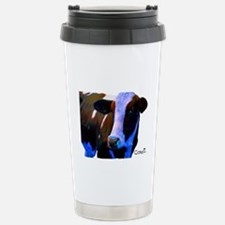 Cowii in Blue Stainless Steel Travel Mug