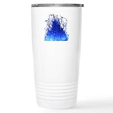 Unique Blue flame Travel Mug