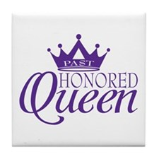 Past Honored Queen Tile Coaster