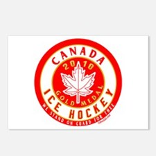CA Canada Hockey Gold Medal Postcards (Package of
