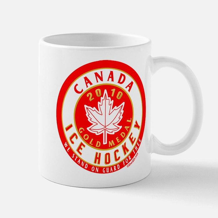 CA Canada Hockey Gold Medal Mug