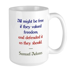 value freedom Mug